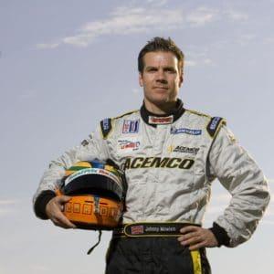 Headshot of race car driver Johnny Mowlem