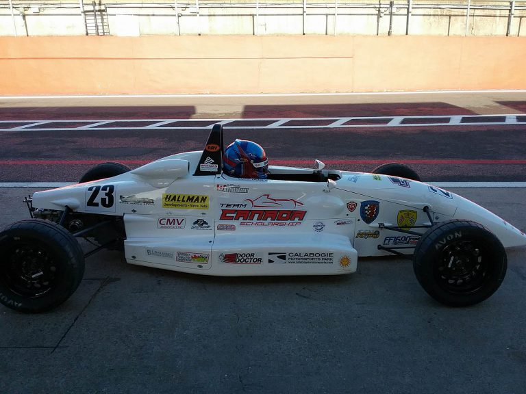 An interview with Team Canada Scholarship winner Guillaume Archambault on the eve of the 47th Formula Ford Festival