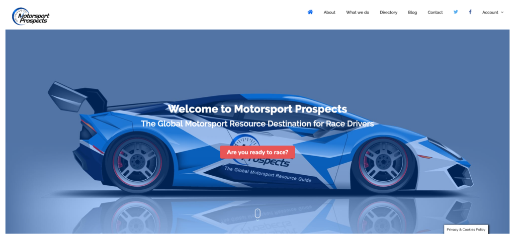 Introducing Motorsport Prospects Version 2.0