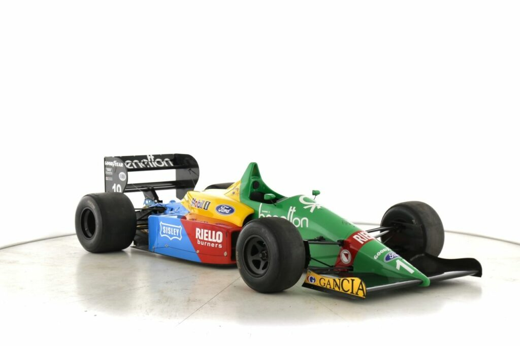 A Benetton B188-01 is For Sale in the Motorsport Prospects Marketplace