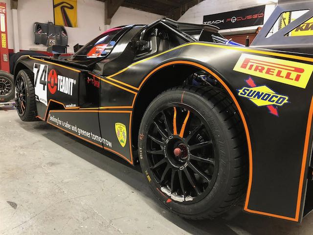 A KTM X-Bow GT4 is For Sale in the Motorsport Prospects Marketplace