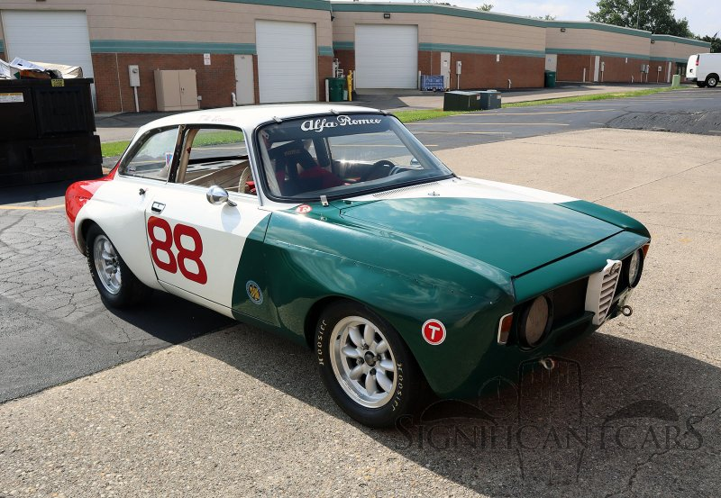 A 1967 Alfa Romeo GTV Race Car is for Sale in the Motorsport Prospects Marketplace