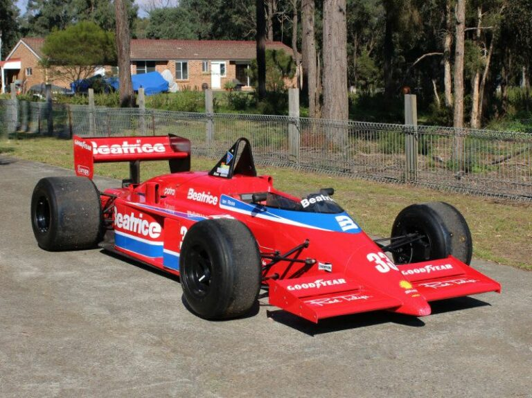A 1985 Lola-Hart THL1 Beatrice Lola Formula 1 Car is for Sale in the Motorsport Prospects Marketplace